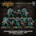 [Crucible Guard] - Crucible Guard Storm Troopers Unit (5) (metal/resin) BOX 2018年8月