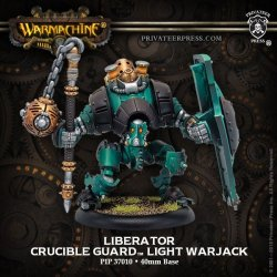 画像1: [Crucible Guard] - Liberator Light Warjack (metal/resin) BOX 2018年7月