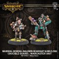 [Crucible Guard] - Marshal General Baldwin Gearheart & Mr. Clogg (2)