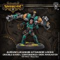 [Crucible Guard] - Aurum Lucanum Athanor Locke Warcaster (metal/resin) 2018年7月