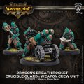 [Crucible Guard] - Dragons Breath Rocket Weapon Crew Unit (metal/resin) 2018年7月