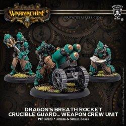 画像1: [Crucible Guard] - Dragons Breath Rocket Weapon Crew Unit (metal/resin) 2018年7月