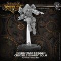 Warmachine: (Golden Crucible) Rocketman Stinger – Crucible Guard Solo (metal)