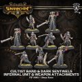 [Infernals] - Cultist Band & Dark Sentinels – Infernal Unit & Weapon Attachments (9) (metal)