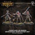 [Mercenaries] - Caine's Hellslingers Warcaster Unit 2017年3月8日発売