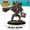 Riot Quest:  Malvin & Mayhem Boss Fight Expansion
