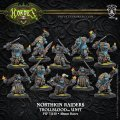 [Trollbloods] -  Northkin Raiders Unit Attachment (resin/metal) BOX 2017年11月発売