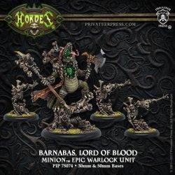 画像1: [Minions] - Barnabas, Lord of Blood Epic Warlock Unit (4) (Resin/Metal) BOX 2018年1月19日発売