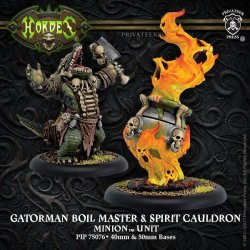 画像1: [Minions] - Gatorman Boil Master & Spirit Cauldron Unit (resin/metal) BOX 2018年2月9日発売