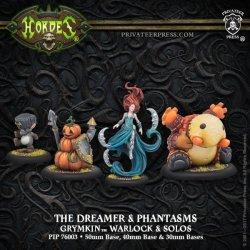 画像1: [Grymkin] - The Dreamer & Phantasms Warlock (resin/metal) BOX