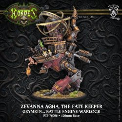 画像1: [Grymkin] - Zevanna Agha, Fate Keeper Battle Engine Warlock (resin/metal) BOX 2017年9月27日発売