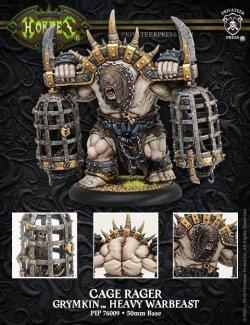 画像1: [Grymkin] - Cage Rager Heavy Warbeast PLASTIC BOX