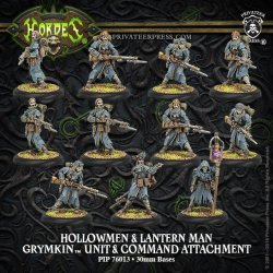 画像1: [Grymkin] - Hollowmen & Lantern Man Unit PLASTIC BOX