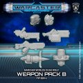 Warcaster Neo-Mechanika: Marcher Worlds - Dusk Wolf Weapon Pack Variant B