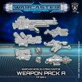 Warcaster: Strike Raptor A Weapon Pack – Warcaster Marcher Worlds Pack (metal)