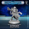 Warcaster: Warder – Marcher Worlds Attachment (metal)