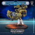 Warcaster: Razorbat – Marcher Worlds Light Vehicle (resin/metal)