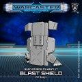 Warcaster: Blast Shield  Marcher Worlds Mantlet (resin)