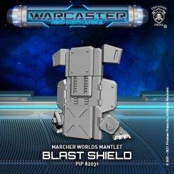 画像1: Warcaster: Blast Shield  Marcher Worlds Mantlet (resin)