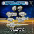 Warcaster Neo-Mechanika: Iron Star Alliance - Firebrand Weapon Pack Variant B