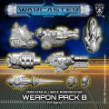 Warcaster: Morningstar B Weapon Pack – Iron Star Alliance Pack (metal)