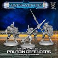 Warcaster: Paladin Defenders  Iron Star Alliance Squad (metal)