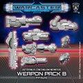 Warcaster: Nemesis B Weapon Pack – Aeternus Continuum Pack (metal)