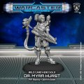 Warcaster: Doctor Myra Hurst – Wild Cards Hero Solo (metal)