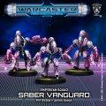 Warcaster: Saber Vanguard  Empyrean Squad (metal)