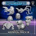 Warcaster: Daemon B Empyrean Weapon Pack (metal)