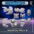Warcaster: Sentinel B Weapon Pack  Empyrean Pack (metal)
