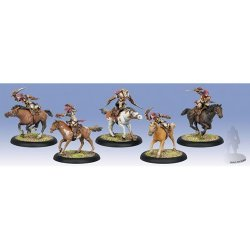 画像1: [Menoth] - Flame Bringers Flameguard Light Cavalry (5) PLASTIC & Metal UNIT BOX