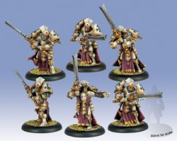 画像1: [Menoth] - Knights Exemplar Unit プラ製